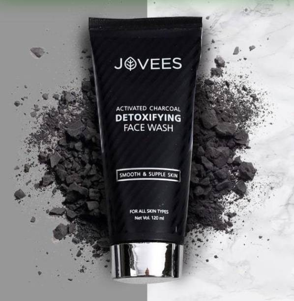 JOVEES Activated Charcoal Detoxifying ,120ml Face Wash