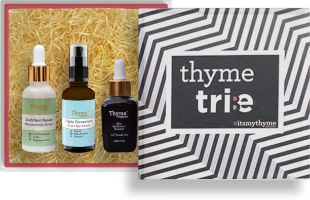 Thyme Organic Day & Night Skincare Regimen Kit