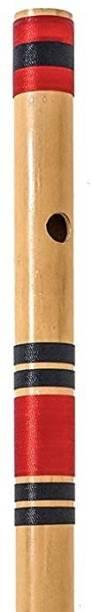 AIBANA Beginners Flute C Natural Right Handed 7 Hole Bamboo Bansuri Bamboo Flute