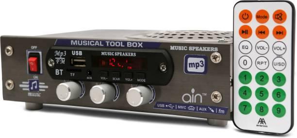 ain AC/DC FM Radio , multimedia Speaker with Bluetooth, USB, SD Card, Aux FM Radio FM Radio