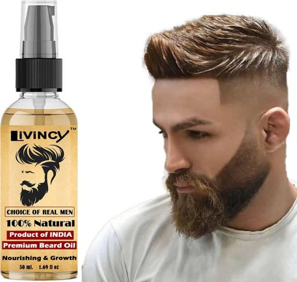 Livincy CHALLANGE BEARD GROWTH OIL FOR MEN AND BOYS (BEARD OIL MEN) BEARD BOOSTER Hair Oil