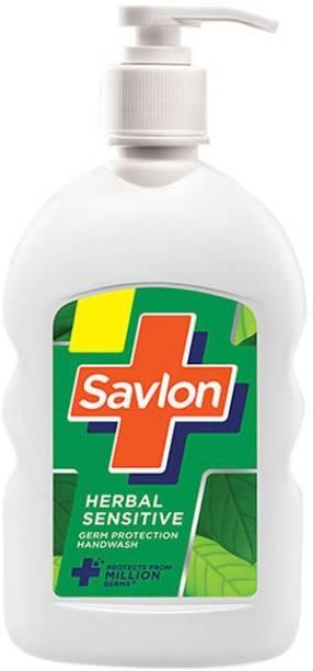 Savlon herbal sensetive Germ Protection handwash 200ml Hand Wash Pump Dispenser