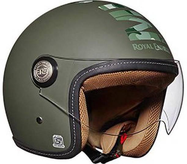ROYAL ENFIELD Chopper Open Face MLG Helmet Motorbike Helmet