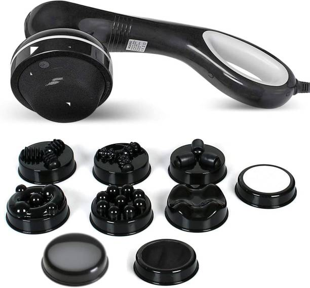 AGARO 33324 Relaxo Hand Massager 28W with 8 Interchangeable Heads Massager