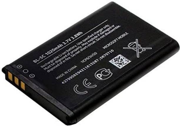STOCK UP Mobile Battery For  NOKIA 1100, 1101, 1110, 1112, 1200, 1208, 1209, 1600, 1650, 1800, 2300, 2310, 2323 Classic, 2330 Classic, 2600, 2610, 2626, 2700 Classic, 2730 Classic, 3100, 3109 Classic, 3110 Classic, 3110 Evolve, 3120, 3650, 3660, 6030, 6085, 6086, 6230, 6230i, 6267, 6270, 6555