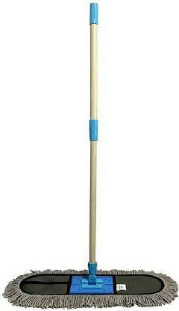 MOP'N'ME Floor Mop   Heavy Duty and Easy to Use Floor Cleaning Mop   Home   Office   Hotels   Hospitals   18inch   Large Wet & Dry Mop