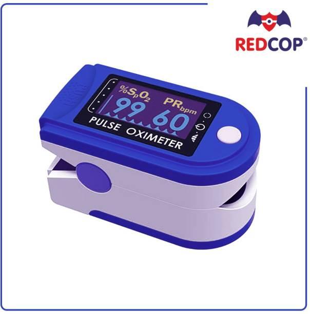 REDCOP Fingertip Oxy Meter Finger Oxygen Saturation Heart Rate Monitor Pulse Oximeter