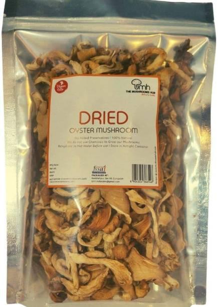 The Mushroom Hub Oyster Mushroom 1 KG , Dry Ready Meal 1000 g