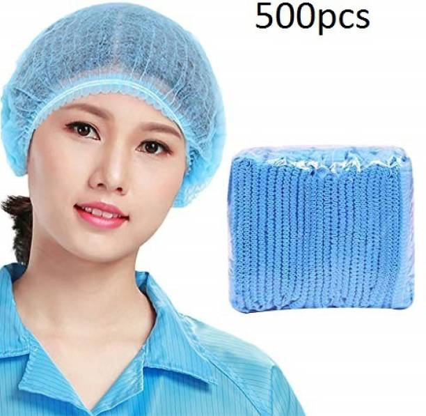 Scion 500Pcs Of High Quality Non-Woven Surgical Bouffant Cap Disposable With Elastic Surgical Head Cap