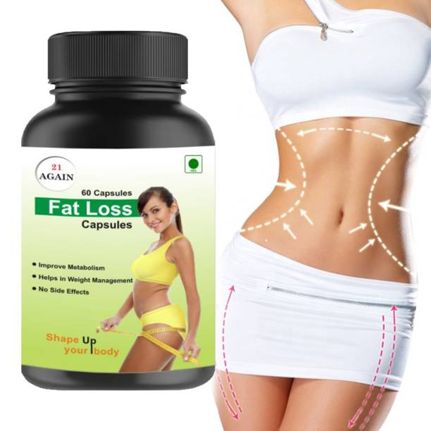 21 again Garcinia Cambogia Weight Loss Capsule | Fat Loss Capsule For Weight Management | Improve Digestions