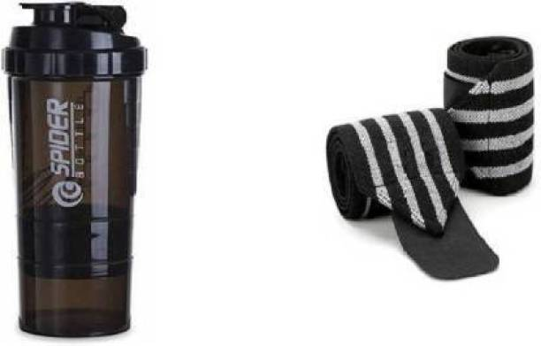 Airfit wrister supporter with gym bottle Gym & Fitness Kit