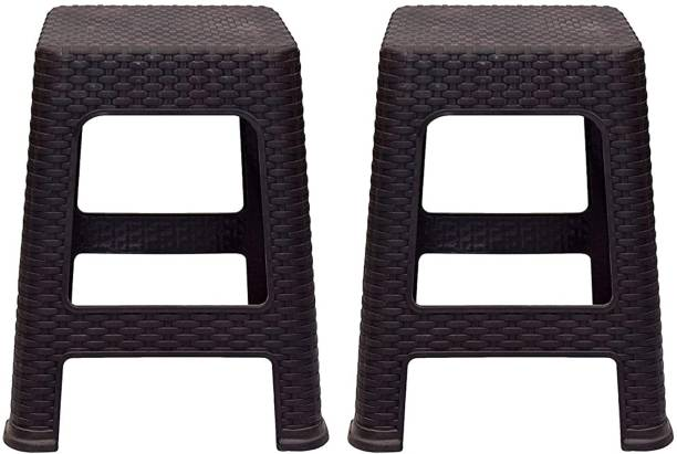 Rainbow Arts Plastic Stool for Home Garden and Office Space Living & Bedroom Stool