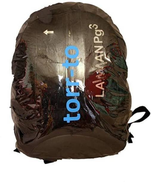 Torr-to Bag Cover Transparent, Imported PVC, Laptop Bag Cover Laptop Bag Cover, School Bag Cover