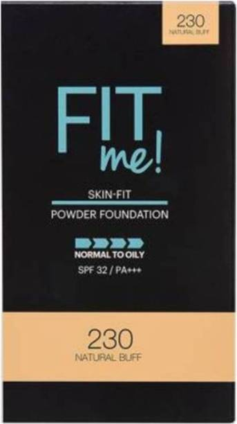 MAYBELLINE NEW YORK FIT ME 230 NATURAL BUFF COMPACT POWER 9 G PACK OF 1 Compact