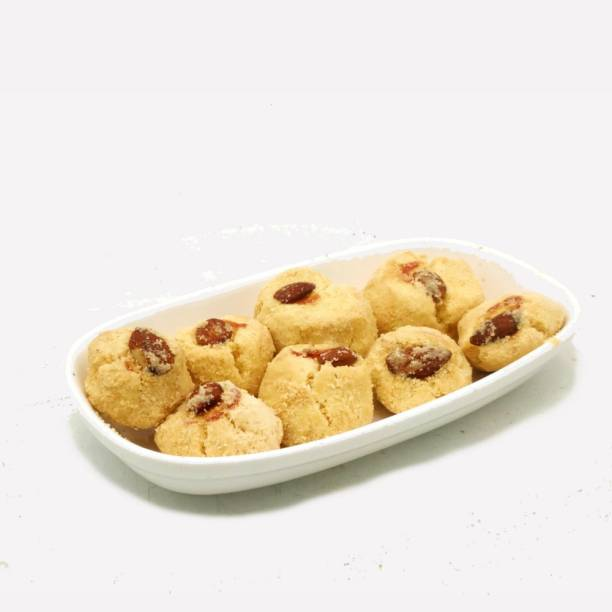Biskutwala Old Delhi's Special Traditional Eggless Besan Nankhatai Biscuits Plain