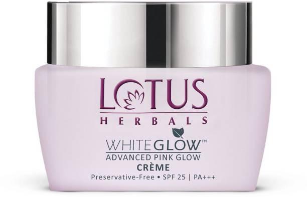 LOTUS HERBALS WhiteGlow Advanced Pink Glow Day Cream