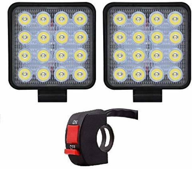 goshop LED Fog Lamp Unit for Maruti Suzuki, Honda, Bajaj, Audi, Chevrolet, Hyundai, Hero, KTM, Isuzu, Suzuki, TVS, Tata, Toyota, Yamaha