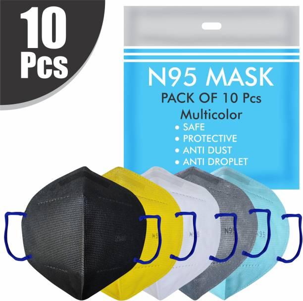 Re REDMOND ENTERPRISE 10 UNIT COMBO OF N95 mask Breathable KN95 mask Face Mask for Men Women Kids 5 Layers Protection 10 UNIT COMBO OF N95 mask Breathable KN95 mask Face Mask Men 5 Layers Protection Reusable, Washable