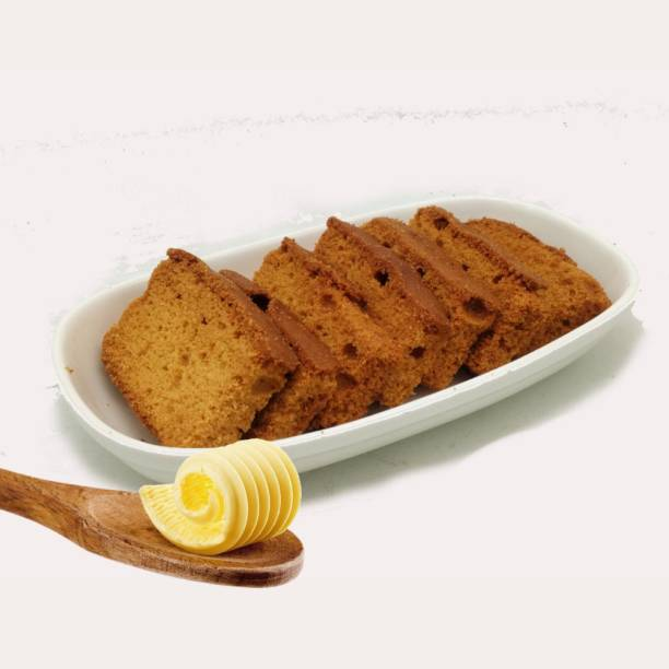 Biskutwala Old Delhi's Special Traditional Eggless Butter Cake Rusks Egless Butter Cake Rusk flavored Buttermilk Rusk