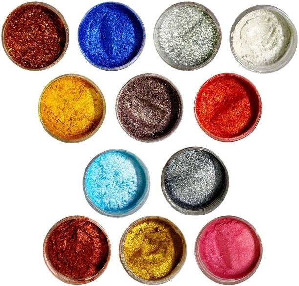 VOZWA colorful Shining Shimmer Powder 12 Pcs