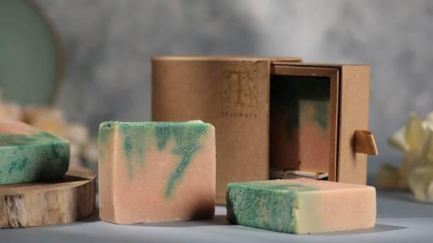 Tejomaya Handmade Natural Anti Oxidant Pine soap