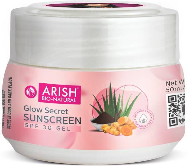 ARISH BIO-NATURAL GLOW SECRET SUNSCREEN SPF 30 GEL - SPF 30