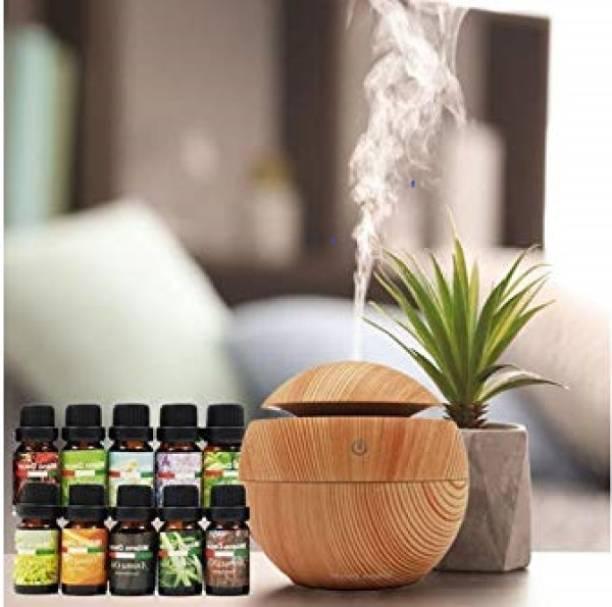 PARAMDHYEY Floral Automatic Spray, Aroma Oil, Diffuser Set