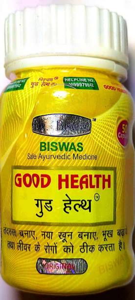 dr.biswas Good Health Capsule Ayurvedic Medicine(50 Capsules)