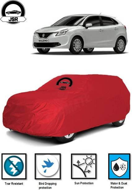 J S R Car Cover For Maruti Suzuki Baleno (Without Mirror Pockets)