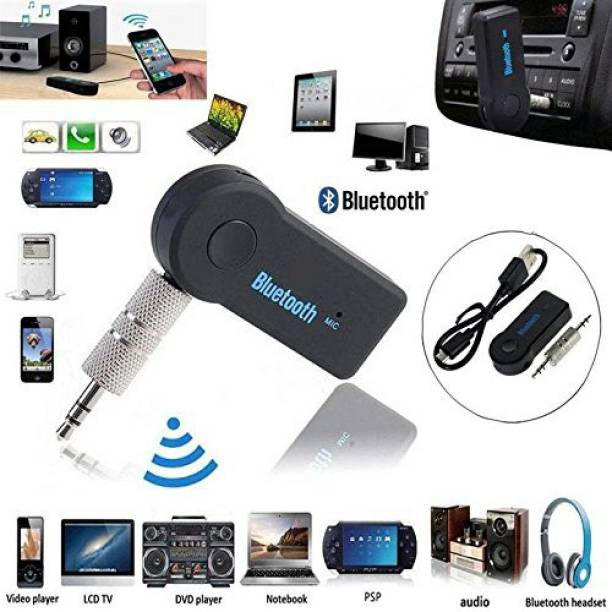Ctronics v2.0+EDR Car Bluetooth Device with Audio Receiver, 3.5mm Connector, Adapter Dongle, MP3 Player