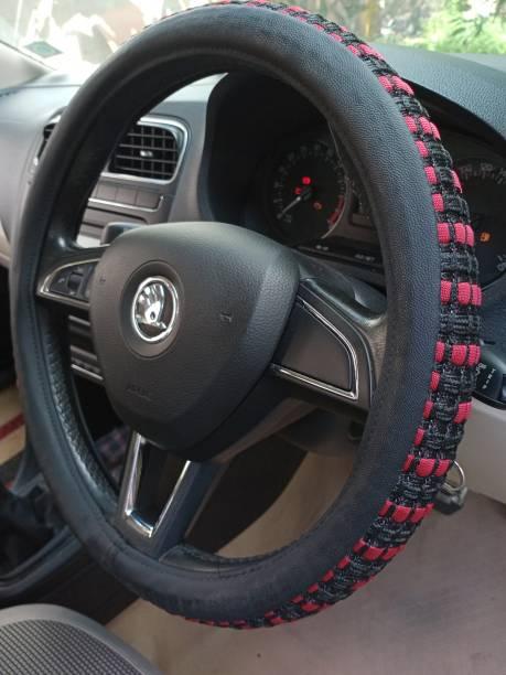 KAALAVANDI Steering Cover For Suzuki WagonR, Swift Dzire, Baleno, New Dzire, Alto, A-Star, Eeco, Celerio, SX4, New Swift, Alto 800, Ertiga, Alto K10, Swift, Zen Estilo, WagonR Stingray