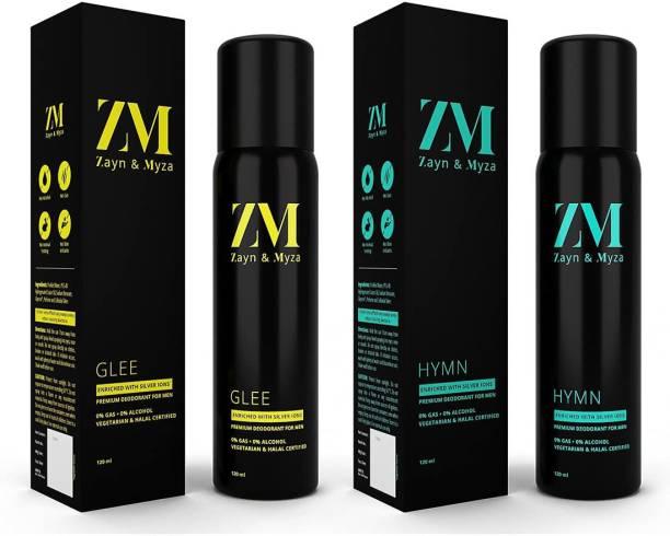 ZM Zayn & Myza Glee And Hymn No Alcohol Body Spray  -  For Men