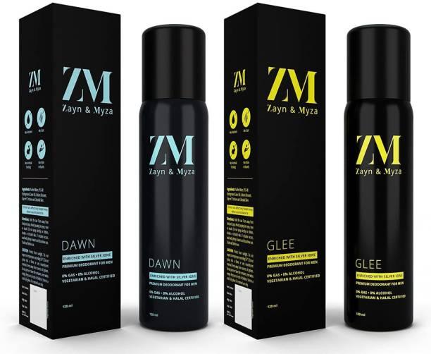 ZM Zayn & Myza Dawn And Glee No Alcohol Body Spray  -  For Men