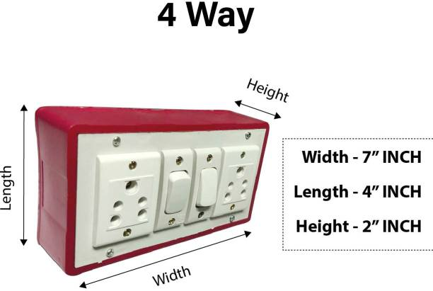 Everun electrical 6 A Two Way Electrical Switch