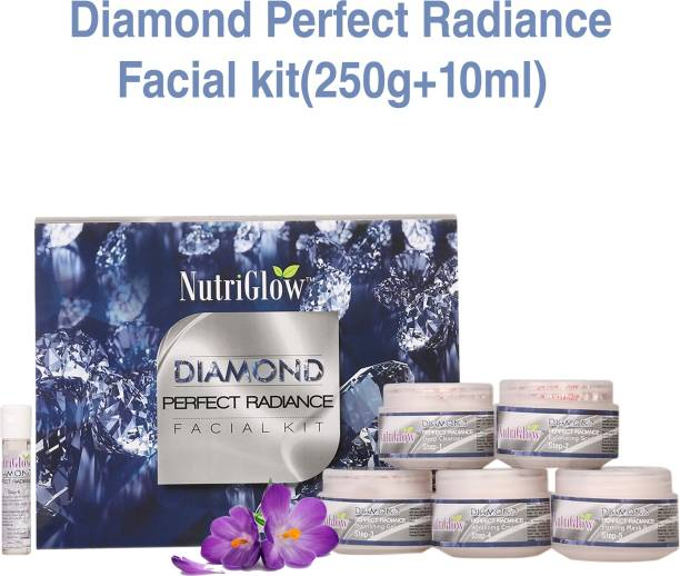 NutriGlow Diamond Perfect Radiance Facial Kit 250 g