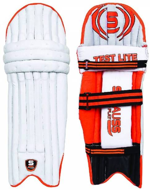 Strauss Test Lite Batting Leg Guard Pads, Cricket Guard Combo