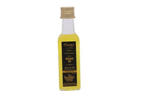 True Oils Sweet Almond Oil (100 ml) Hair Oil