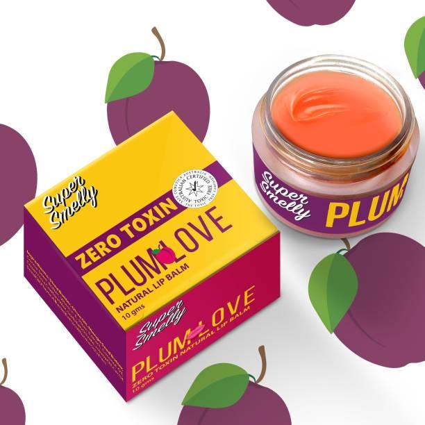 SUPER SMELLY Zero Toxin Plum Love Natural Lip Balm Plum