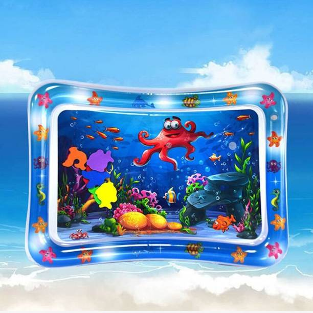 ketmart Inflatable-Baby-Water-Play-Mat for Infants & Toddlers Fun Play Activity Playmats for Baby Inflatable Bed