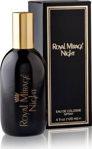 ROYAL MIRAGE Eau De Cologne - Night 120ml   Made in U.S.A   Eau de Cologne  -  120 ml