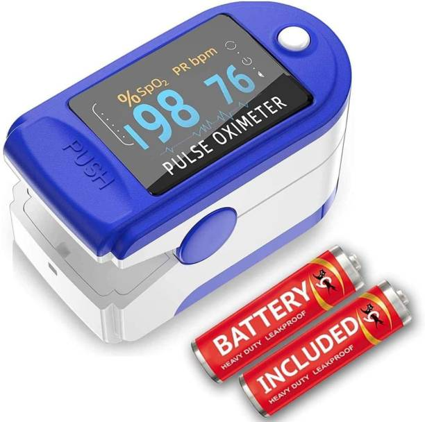 Zovilstore Pulse Oximeter Finger Oximeter SPO2 Blood Oxygen Saturation Monitor Heart Rate Monitor Rotatable OLED Digital Display Pulse Pulse Oximeter Pulse Oximeter