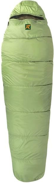 Rocksport Karakoram With Fleece Liner, -2°C to +10 °C (Green,1.7 kg) Sleeping Bag