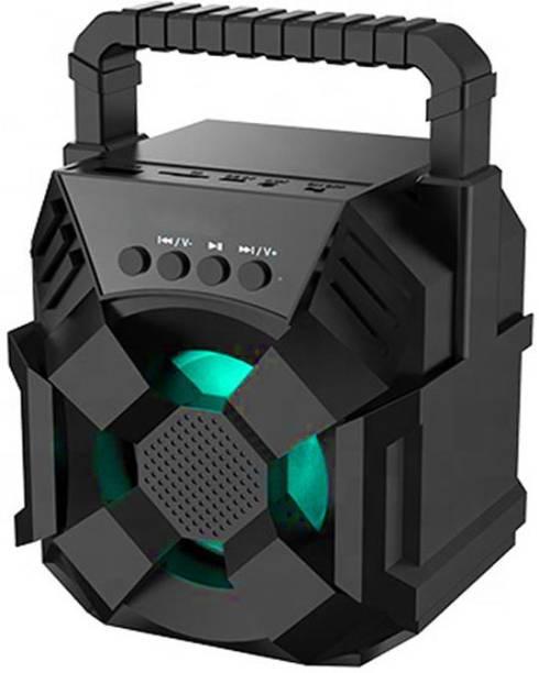 YODNSO LZ-3101 3D sound Bass  Splashproof  Water resistant Rock Beat Blast Stereo sound quality Portable & Wireless   led Light & Carry Handle-Travel Speaker 5 W Bluetooth Speaker