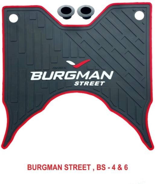 Zealsy Super Quality Scooty Foot Mat burgman street mat BS 4 and BS 6 Suzuki Burgman Street Two Wheeler Mat