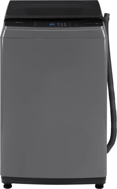 Midea 8 kg Fully Automatic Top Load Grey