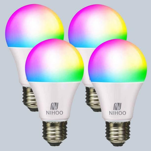 nihoo 9 W Round E27 LED Bulb