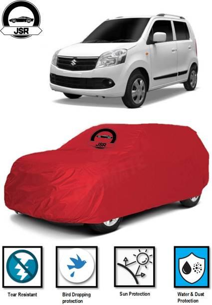 J S R Car Cover For Maruti Suzuki WagonR (Without Mirror Pockets)