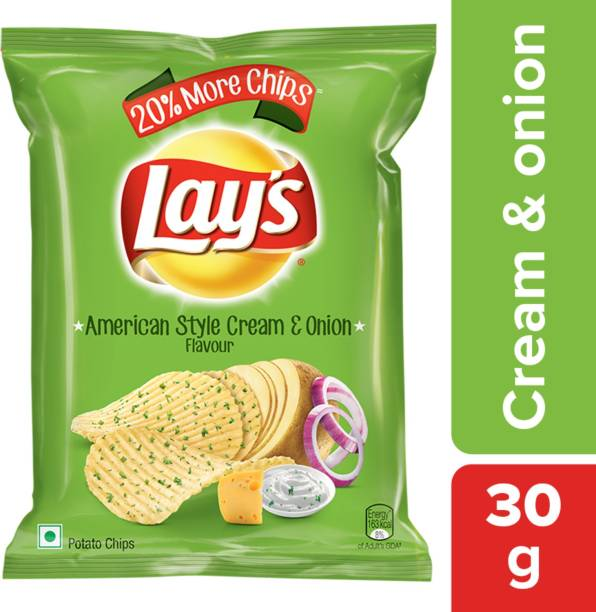 Lay's American Style Cream & Onion Flavour Chips
