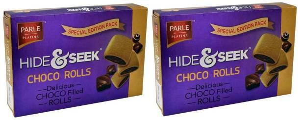 PARLE Hide & Seek Choco Filled Rolls   Pack of 2