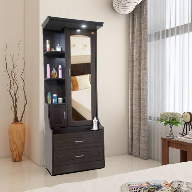 ELTOP DD3 Dressing Table With Mirror And Storage Engineered Wood Dressing Table
